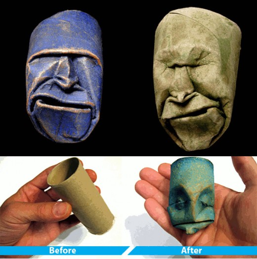 #69  Sculptures Made from Toilet Paper Rolls! Fun and Green at the same time!