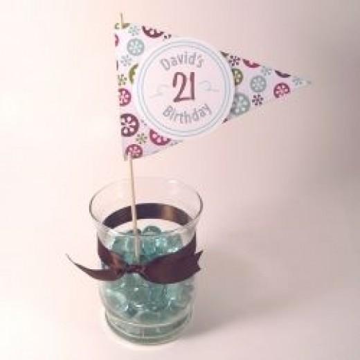 21st birthday Decortion