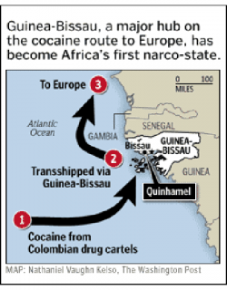 Guinea-Bissau Drug Trade