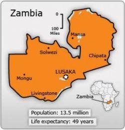 Zambia Life Expectancy