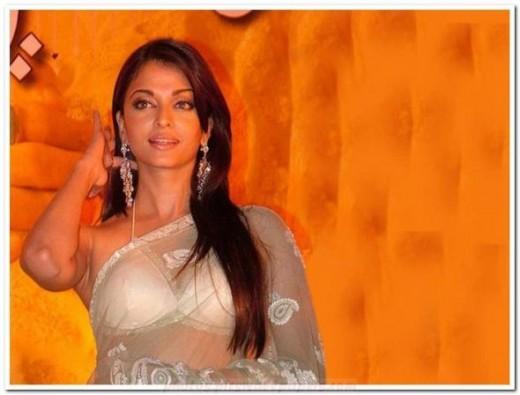 Bollywood Actress Aishwarya Rai- Saree Photos