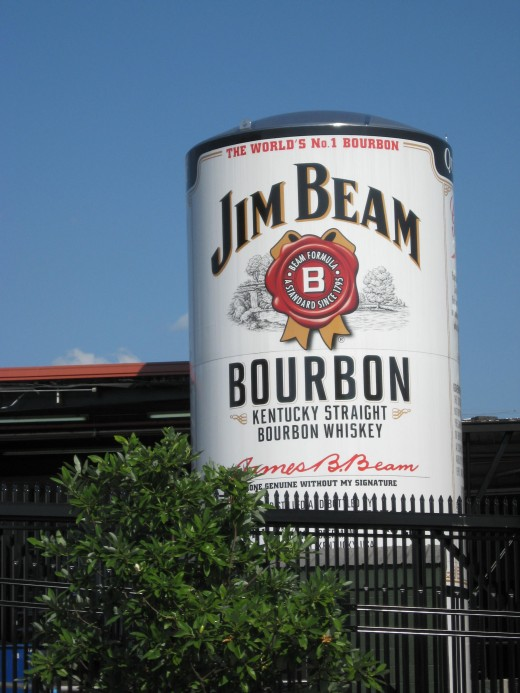 The Jim Beam Distillery in Clermont, KY