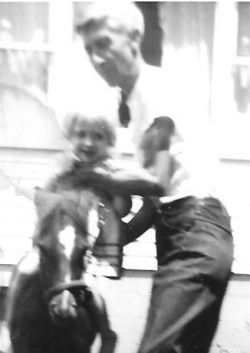 Me and Dad 1964