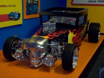 A real life-size Hot Wheels Car!
