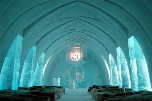 Hotel Made of Ice: The Church