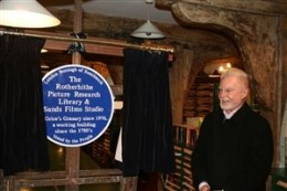 The Rotherhithe Picture Project & Sands Film Studio's Blue Plaque.