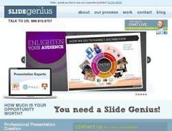 Slidegenius Powerpoint Design Company