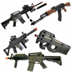 5 Halfway Decent AEG Airsoft Rifles Under $50