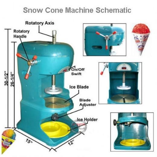 Snow Cone Machine Shematic