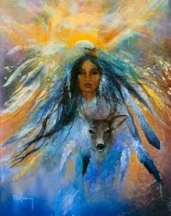 "Folklore ""The Deer Woman"" a Native American Story"