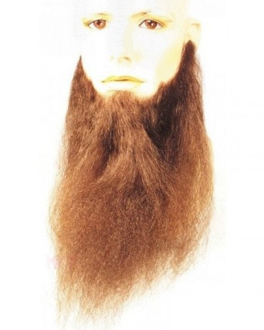 Fake beard found at maxwigs.com.