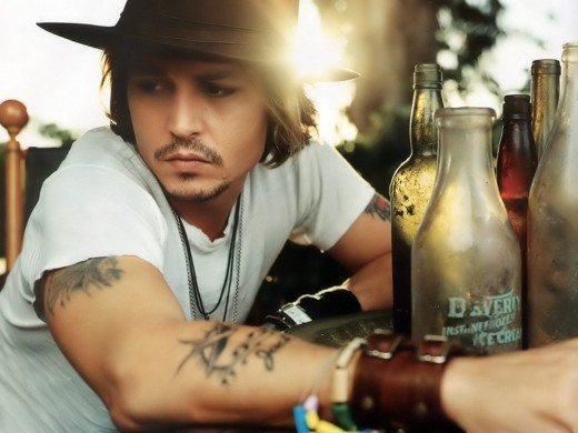 Johnny Depp is as SEXY as they come!