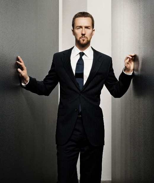 Edward Norton looking GQ!