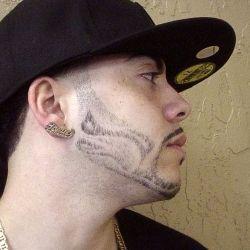 tribal beard style