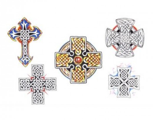 more celtic crosses