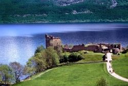 Nessie location Postcard Pic
