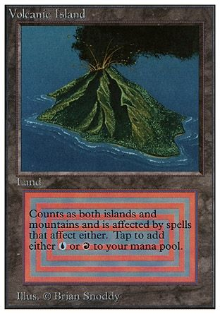 mtg volcanic island