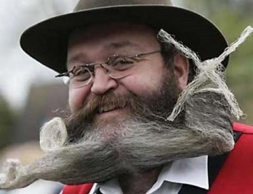 Crazy Beard!