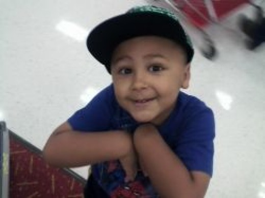 My youngest son!