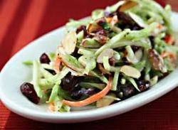 healthy fruity coleslaw