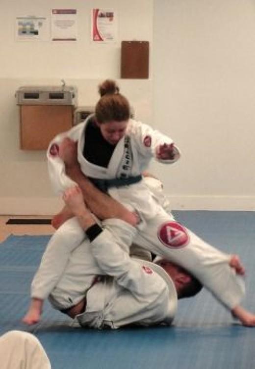 Jiu-Jitsu Girl