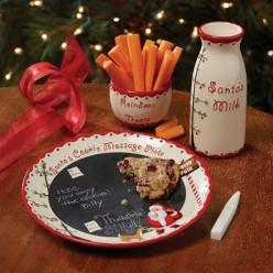 Dear Santa Message Plate