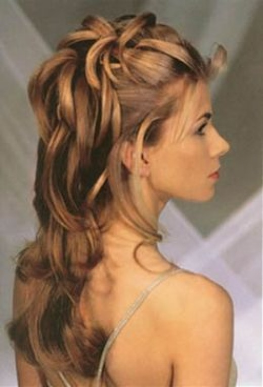 Wedding Hairstyles Half Up Half  Down
