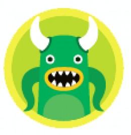 Green Squidoo Monster
