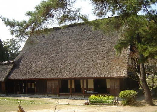 The Open Air Museum of Rural Japanese Farmhouses