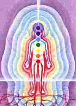 Follow the flow of energy in the Aura