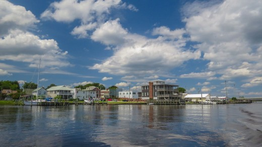 Swansboro, NC from harbor
