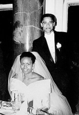 US President Barack Obama and First Lady Michelle Obama - Before anything else, a mother is a woman in love - http://www.flickr.com/photos/quincypics/3439302255/in/photostream