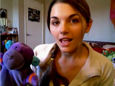 Cutie Lonelygirl15 was not real...P. Monkey was so disillusioned