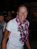 Chrissie Wellington. Winner of women's Ford Ironman Championship, Kona, Hawaii, October, 2008-2010
