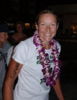 Chrissie Wellington. Winner of women's Ford Ironman Championship, Kona, Hawaii, October, 2008-2010
