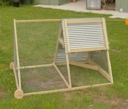 Chicken Tractors; Free Range Chickens Safely!