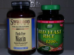 Two very helpful supplementals to help lower cholestrol and triglycerides when needed.
