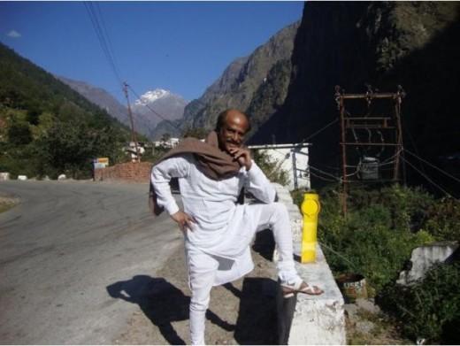 Rajini in Himalayas