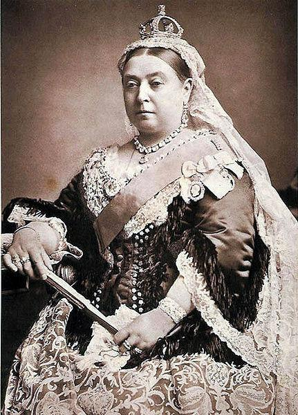 Queen Victoria - ruled from 1837 to 1901  (public domain photo from Wikipedia  http://en.wikipedia.org/wiki/List_of_British_monarchs)