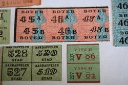 World War II Dutch food ration coupons. Credit: Sander van der Molne (Wikimedia/Creative Commons)