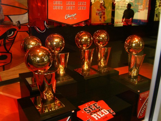 6 Championship Trophies