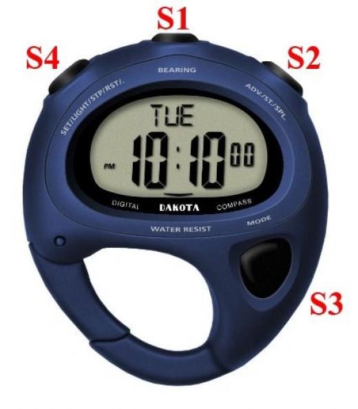 How to adjust or set the Dakota Carabiner watch