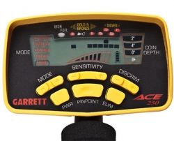 Garret Ace 250 metal detector