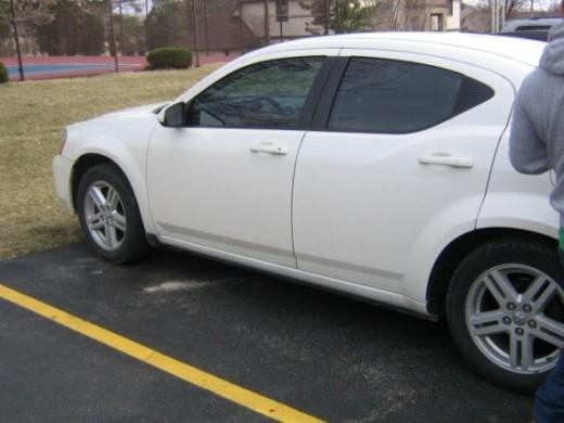my husband's car