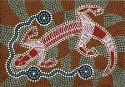 Goanna, totem of the Wiradjuri people