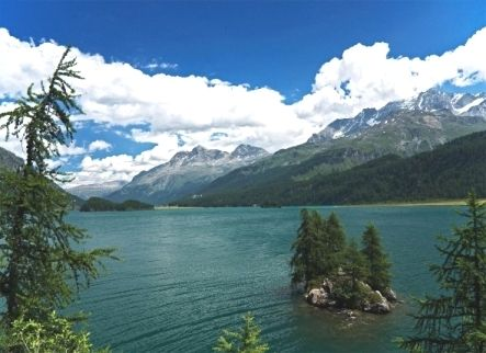 Lej da Segl (Lake Sils)