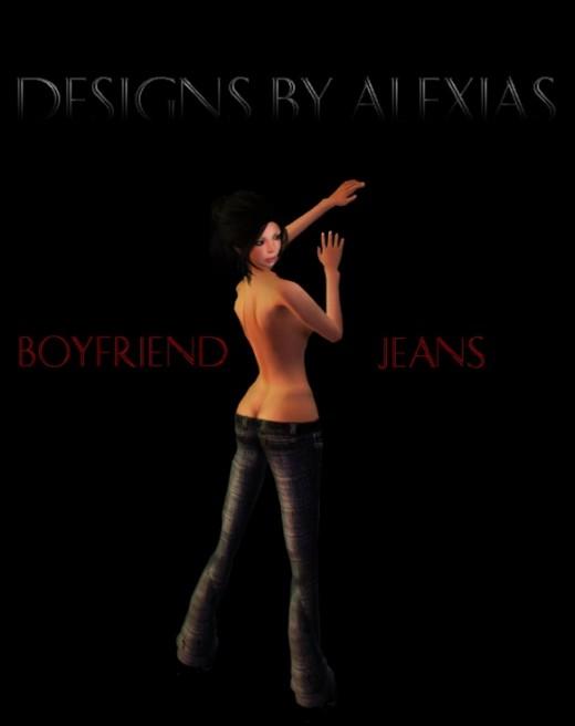 AngelRED boyfriend jeans