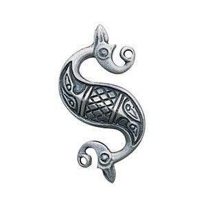Celtic Horse for Tranquillity and Serenity, made with Pewter and supplied with a black cord - GBP 4.94