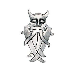 "Viking Pendant - Odin sometimes wore a terrifying mask when encountering potential opponents which would scare them away, saving the ""Allfather's"" energy for more enjoyable pursuits. GBP 9.89"