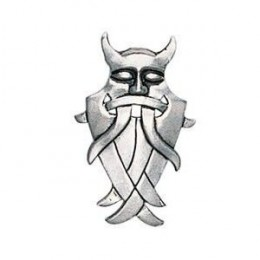 """Viking Pendant - Odin sometimes wore a terrifying mask when encountering potential opponents which would scare them away, saving the """"Allfather's"""" energy for more enjoyable pursuits. GBP 9.89"""